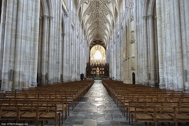 Kathedrale Mittelschiff