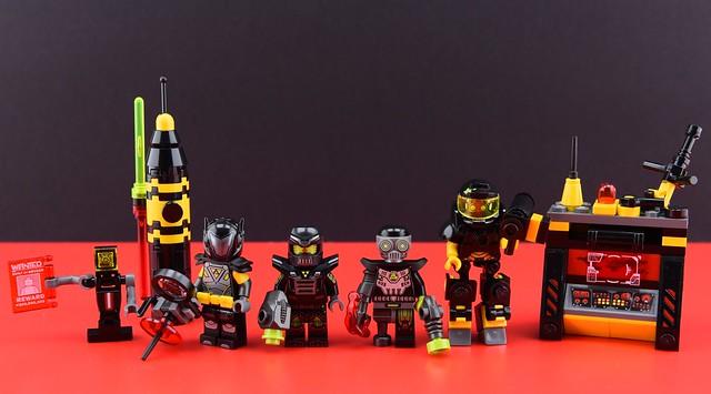 Random minifigs #11 : Blacktron redux