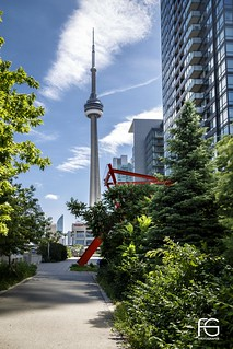 CN Tower on the other side