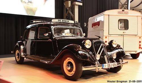 Citroën Traction Avant 11 Commerciale 1954