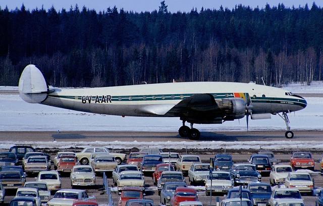 6V-AAR Lockheed L-749A Constelation ARN 19700412 kjell nilsson
