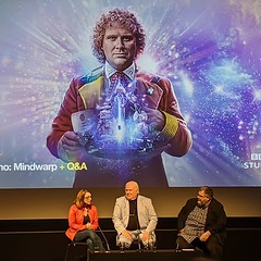Sixth Doctor panel at the BFI