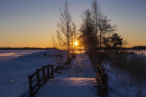 canon6d landscape sunrise winter frozensea outdoors nature outside finland espoo