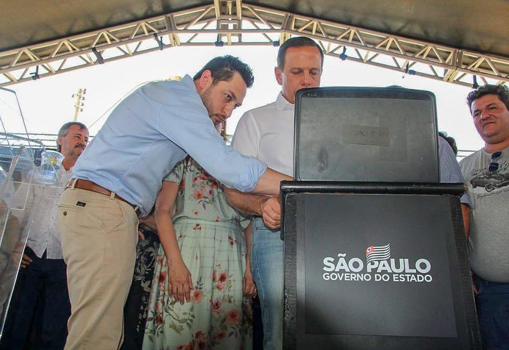 Inauguração do Centro de Convivência do Idoso em Pindorama