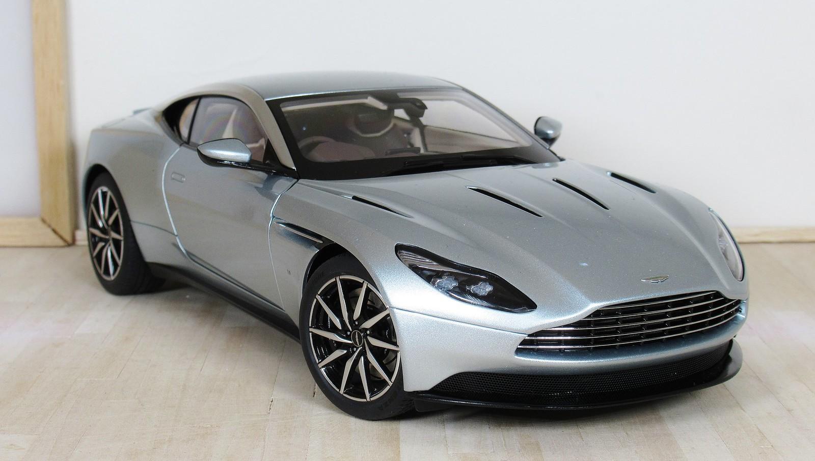 Autoart Aston Martin Db11 Skyfall Silver Aston Martin Diecastxchange Com Diecast Cars Forums