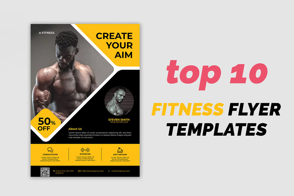 Top 10 Fitness Flyer Templates