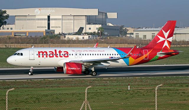 9H-NEB LMML 14-09-2019 Air Malta Airbus A320-251N CN 8940
