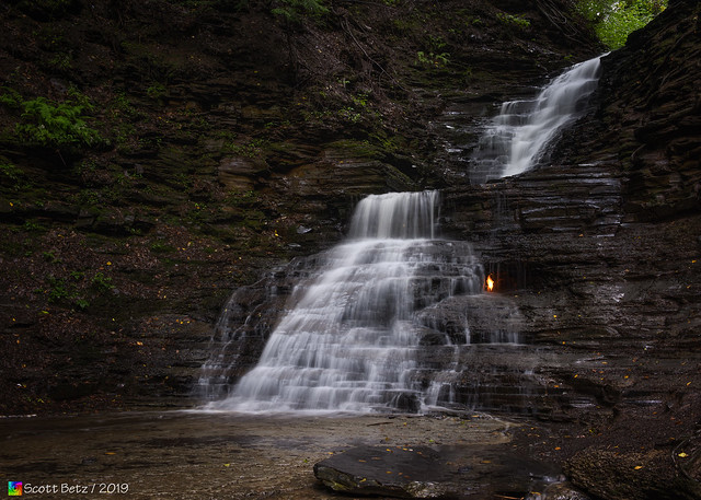 Eternal Flame Waterfall  (Landscape)