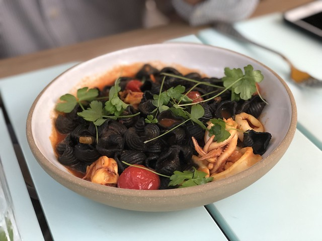 Cuttlefish pasta