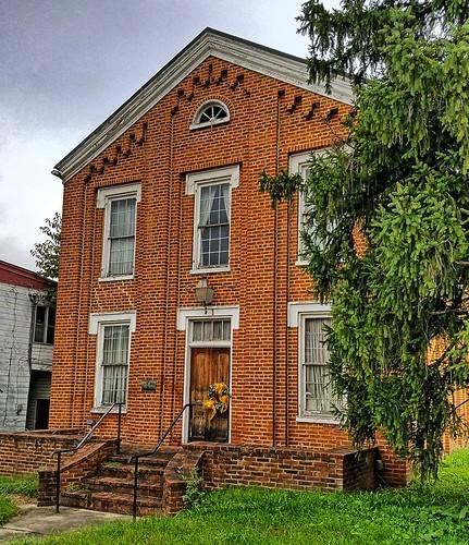 westvirginia hampshirecounty romney us50 publiclibrary library nationalregister nationalregisterofhistoricplaces