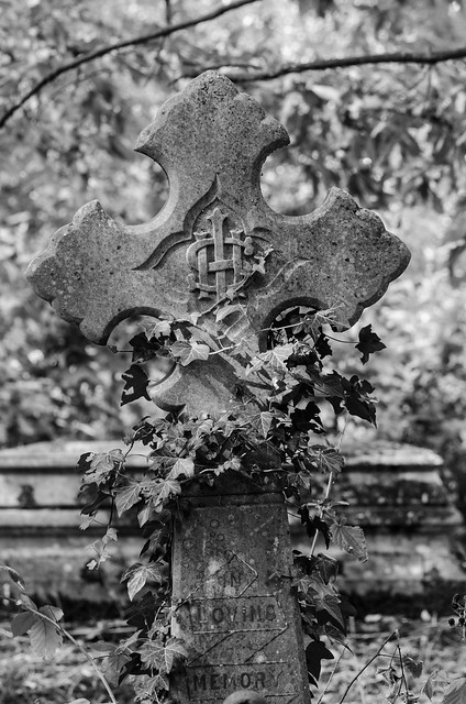 Seen at the Rosary cemetery, Norwich