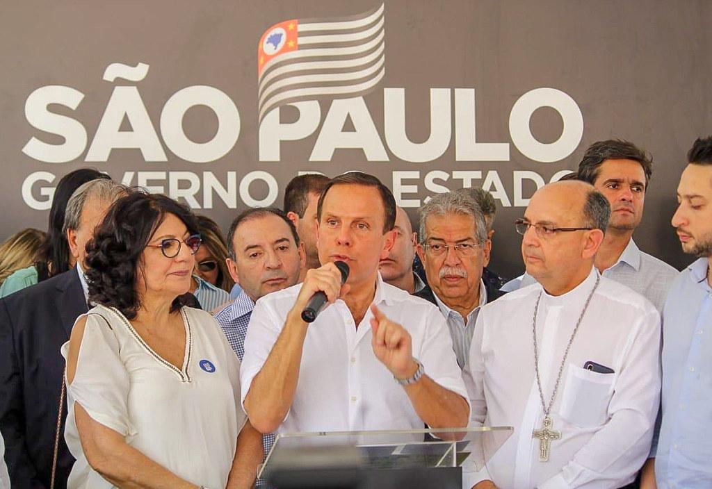 Inauguração do Hospital do Câncer de Catanduva.