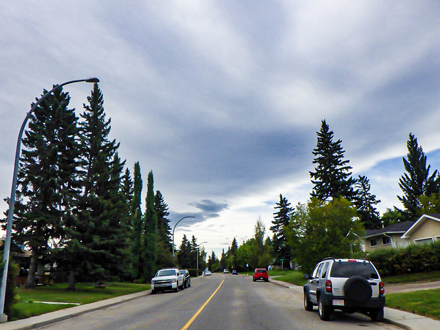 800km in SW Calgary