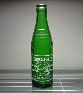 1952 Connellsville Sparkling Beverages Soda Bottle