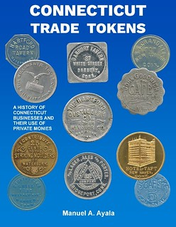 Connecticut trade Tokens book cover