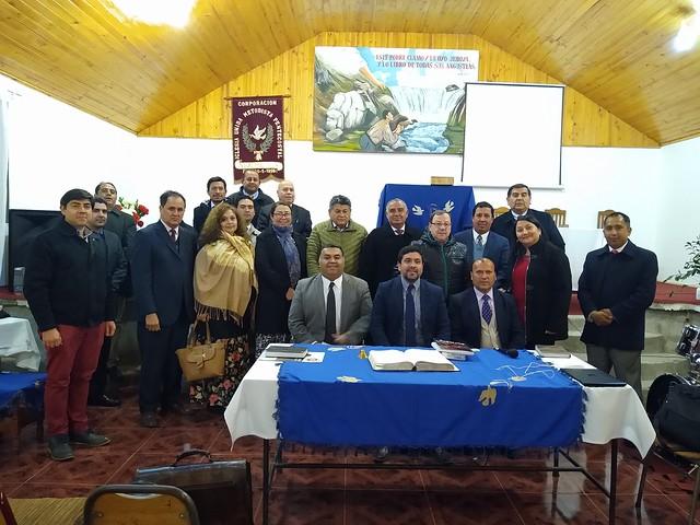 Reunión de programación y coordinación UNIPECH en IUMP Requínoa