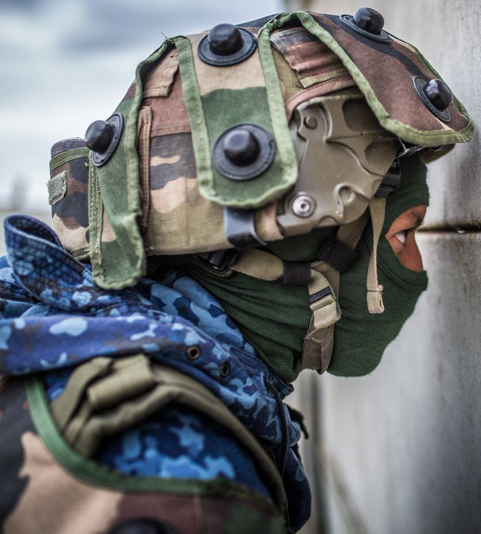 CENTAC/CENZUB - La FORAD (Forces adverses permanente) blue flecktarn pattern 48733362348_2e81290f48_o