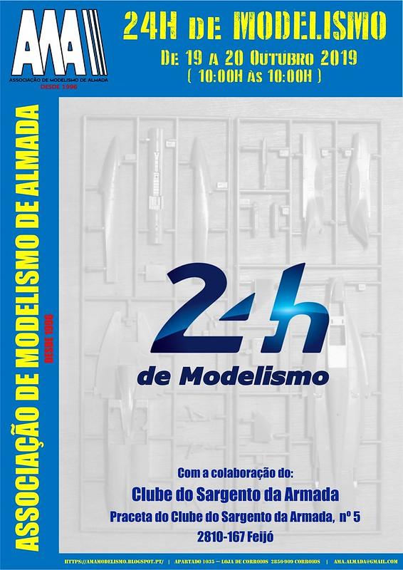 Cartaz 24h de Modelismo