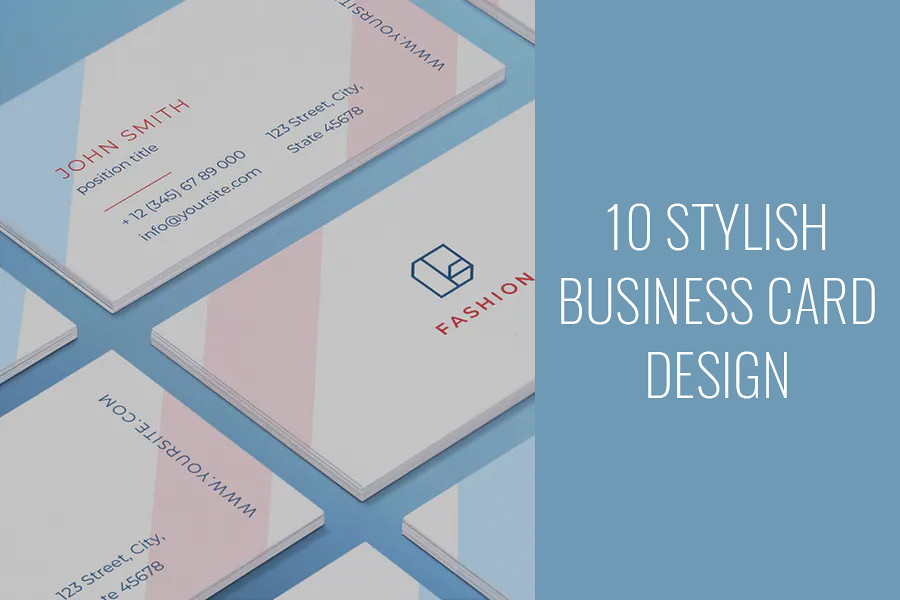 10 Stylish Business Card Design