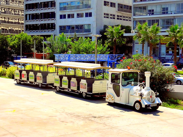 Tourists Train