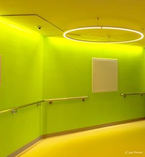 Lime Hospital Corridor