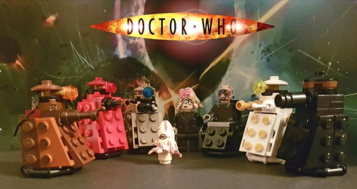 New Daleks including Rusty and Dalek without casing.
