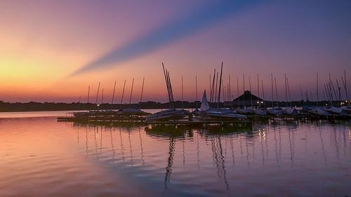 whiterocklake dallas sunset bluehour landscape iphone