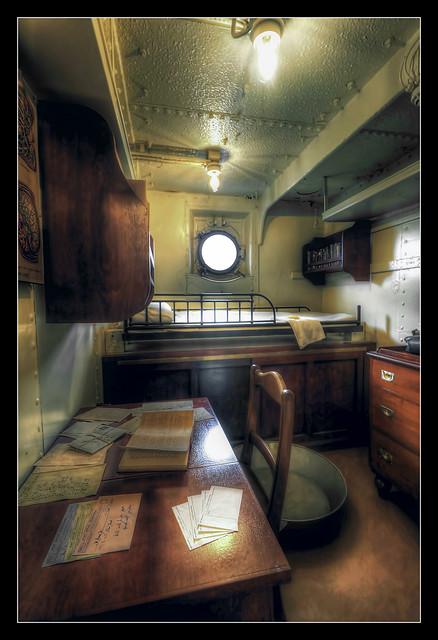 Belfast NIR - HMS Caroline medical officer cabin