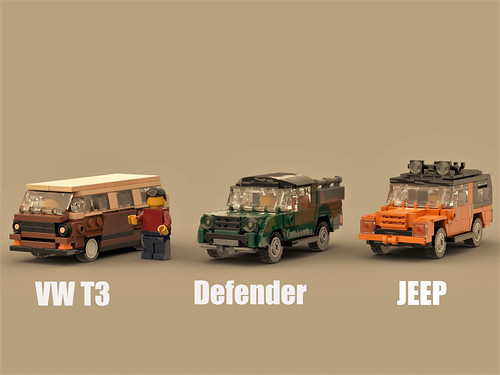 Utility vehicles in 1/43