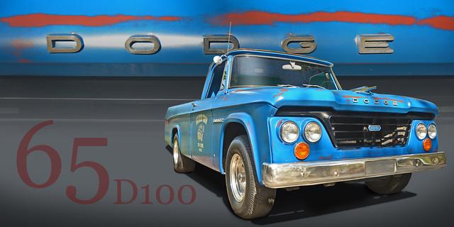 65 Dodge D100