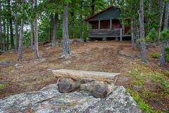 Voyageurs National Park - Log Cabin