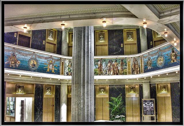 Marquette Building ~ Chicago Il ~ Lobby Area
