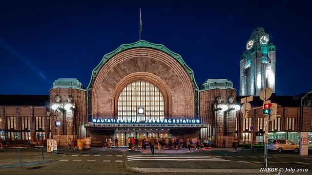 Helsinki, Finland: Central Railway Station