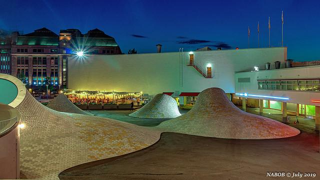 Helsinki, Finland: Amos Rex Modern & Contemporary Art Museum