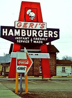 Geri's Hamburgers (Janesville WI 1986)