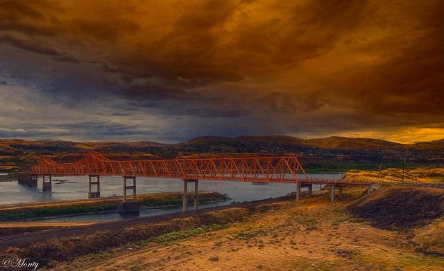 Columbia River, Dallesport, Washington