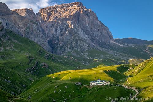 asia remote traveldestinations scenicsnature landscape beautyinnature travel horizontal laza caucasus azerbaijan colorimage outdoors tourism eurasia mountain qusar