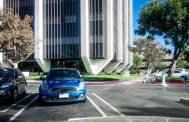 Blue Mini in Santa Ana