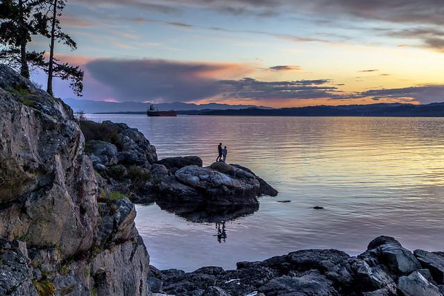 Saxe Point Sunset