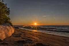 Lake Erie Bluffs Sunset