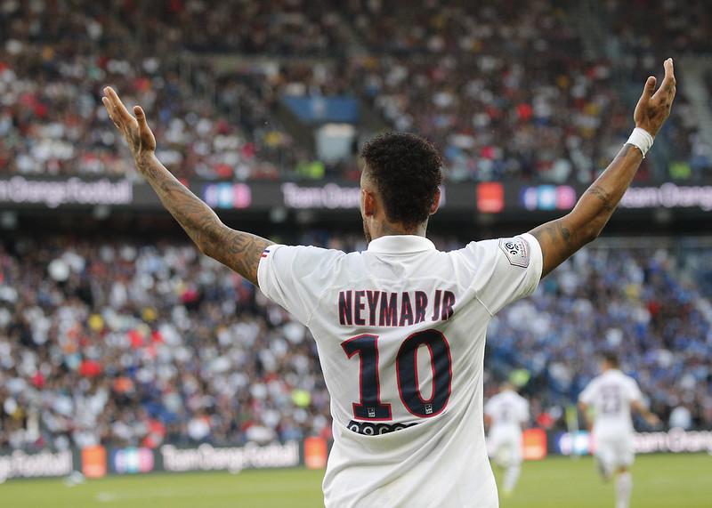 Neymar。(達志影像)