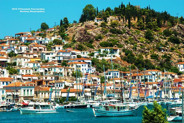 VACATION, GREEK ISLANDS & THE PELOPONNESE, JULY-AUG. 2019 #6520A ΔΙΑΚΟΠΕΣ ΙΟΥΛΙΟΣ-ΑΥΓ. 2019