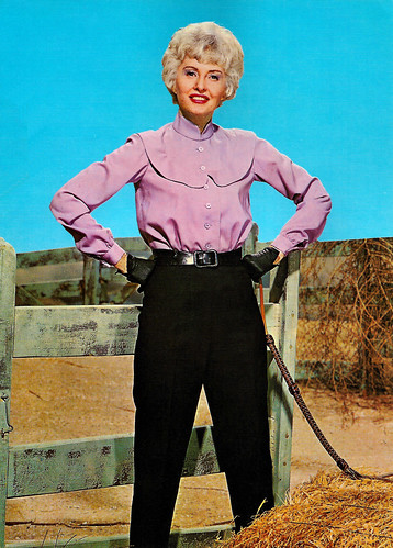 Barbara Stanwyck in The Big Valley (1965)