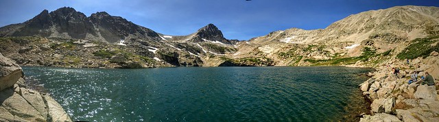 Adventure to Blue Lake in Colorado Indian  Wilderness