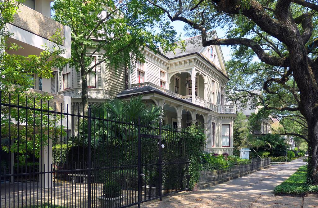 Garden District. New Orleans.