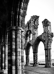 The Arches of Whitby Abbey