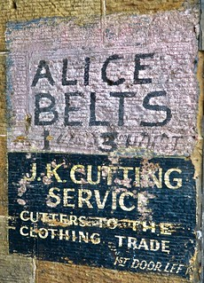 Alice Belts, Glasgow, UK