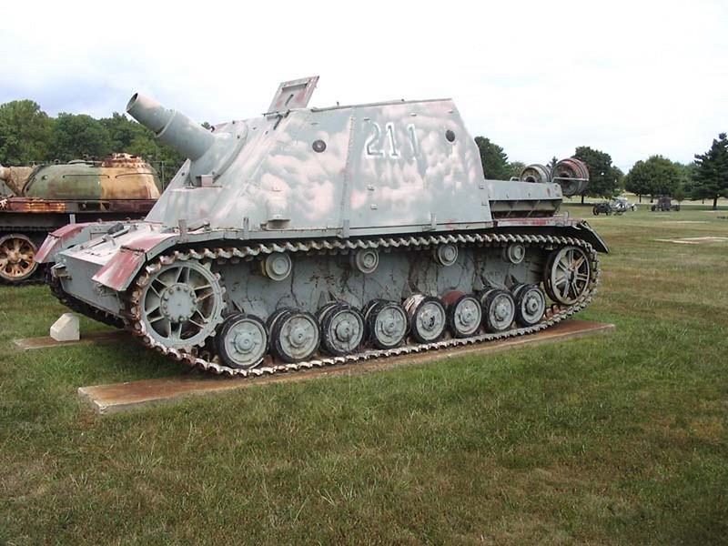 Sdkfz 166 Brumbar 1