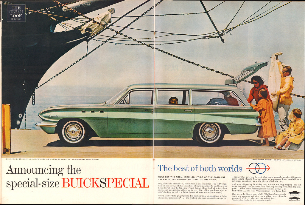1961 Buick Special Station Wagon