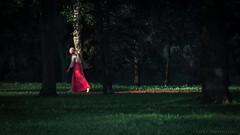 Paseo por el bosque, Minsk, Belarus